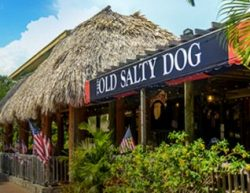 The Old Salty Dog restaurant in Siesta Key, FL