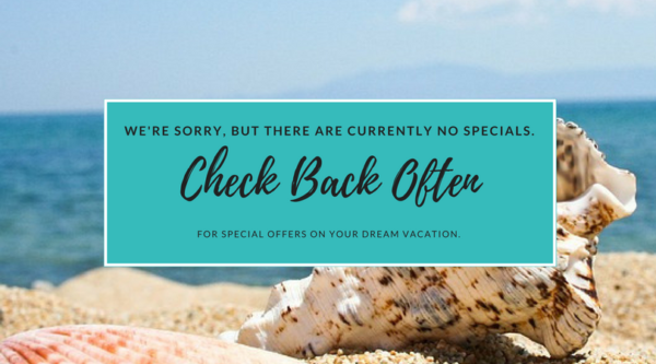 No holiday or seasonal specials right now || Peppertree Bay