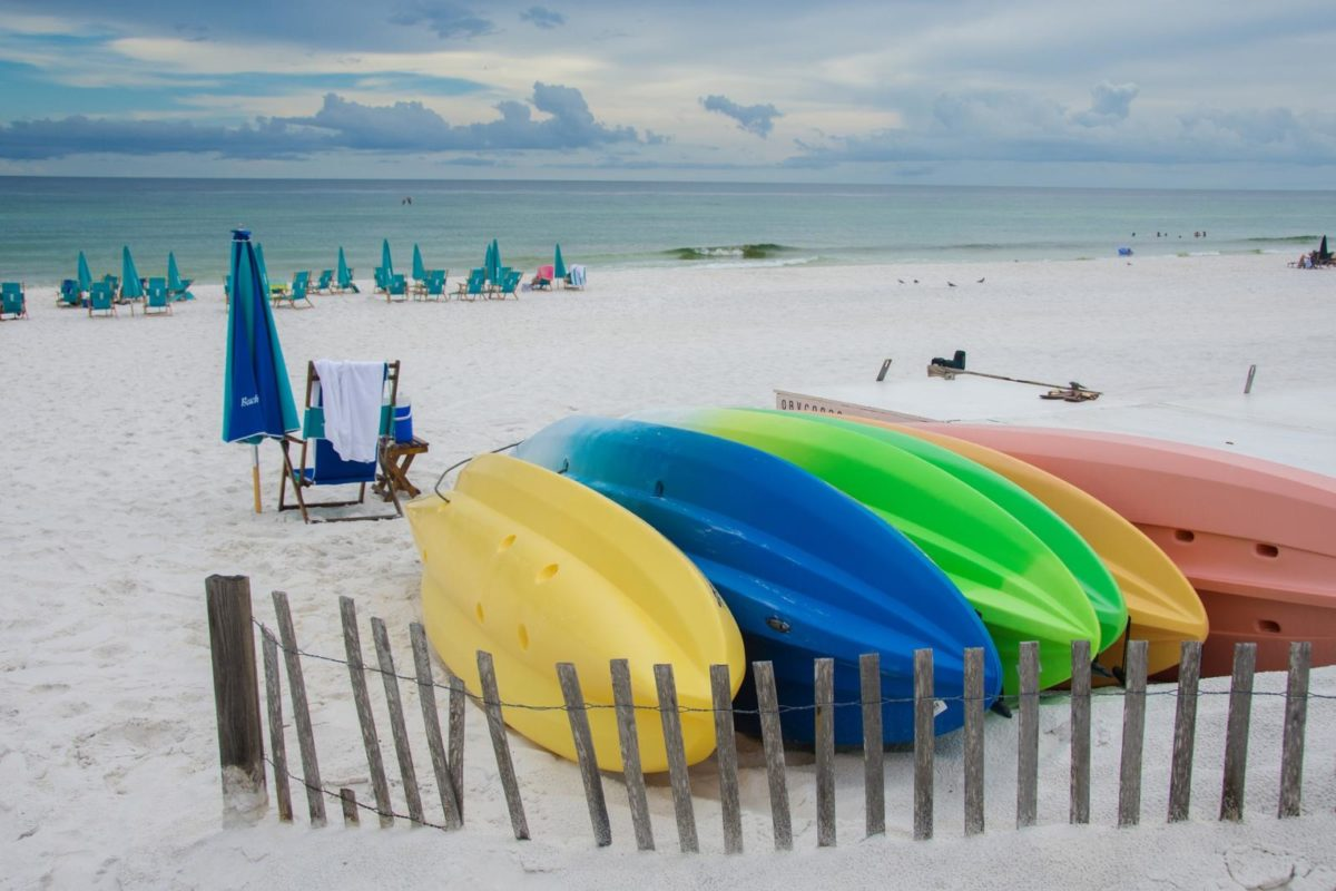 Siesta Key is sensational. Adventurers will crave the possibilities of kayaking through the mangroves.