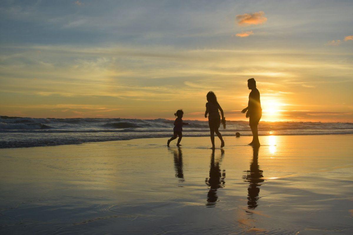 Family fun on the beach in Siesta Key