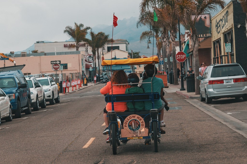 pedicab ride