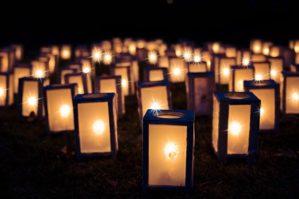lights in votives